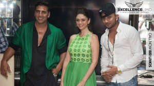 Akshay Kumar, Aditi Rao Hydari and Yo Yo Honey Singh