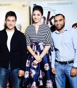 Amir khan & Anushka Sharma