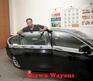 American actor and comedian Shawn Wayans