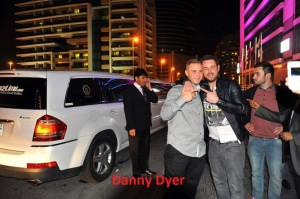 UK Actor Danny Dyer