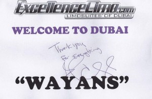The official authograph of the Wayans Brothers