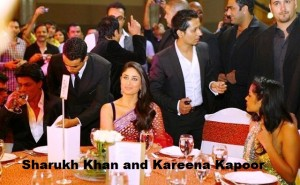 Sharukh Khan and Kareena Kapoor