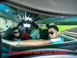 Bollywood stars Pooja Gupta and Kunal Khemu