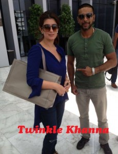 Bollywood Superstar Twinkle Khanna