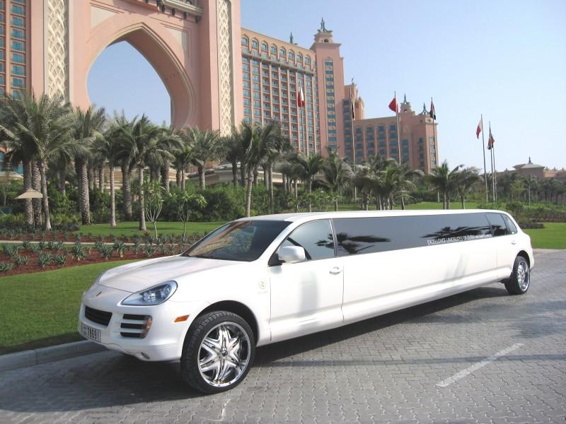 porsche cayenne limo limousine dubai call 042652228. Black Bedroom Furniture Sets. Home Design Ideas